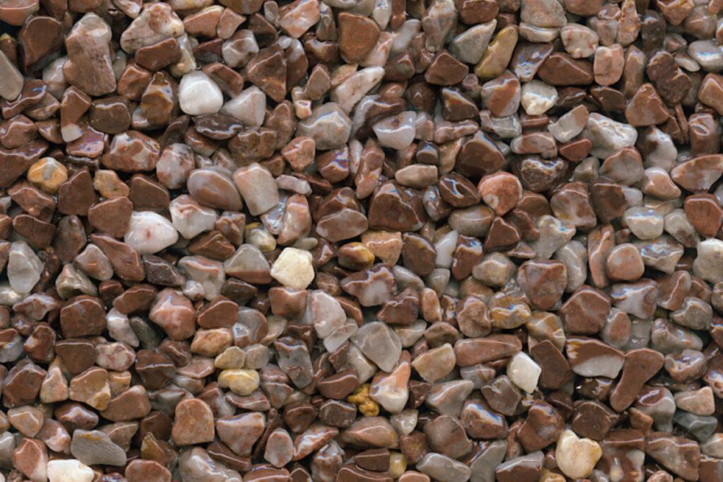Kontrast braun decorstone steinteppich kemperol decorstone
