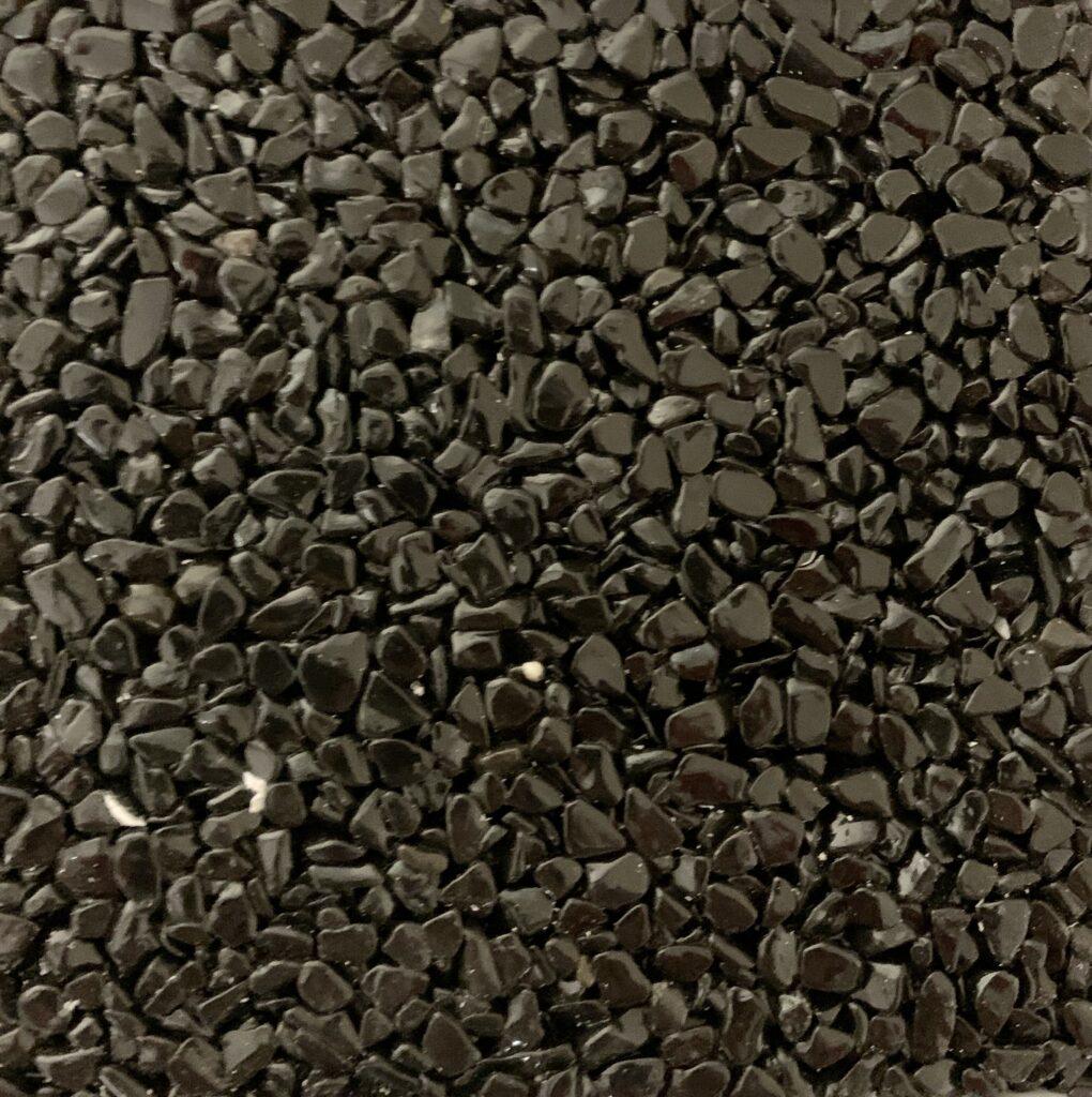 Schwarz steinteppich kemperol decorstone coelan